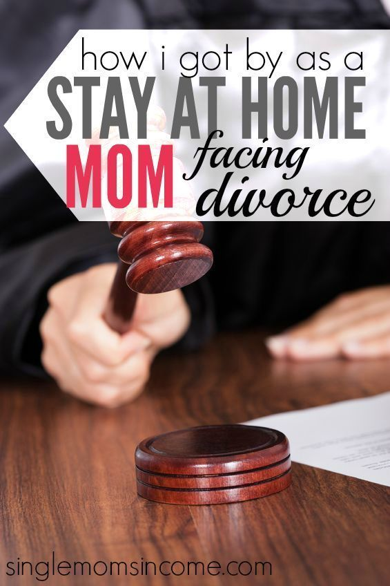 How I Got By as a Semi- Stay at Home Mom Facing Divorce #stayathome