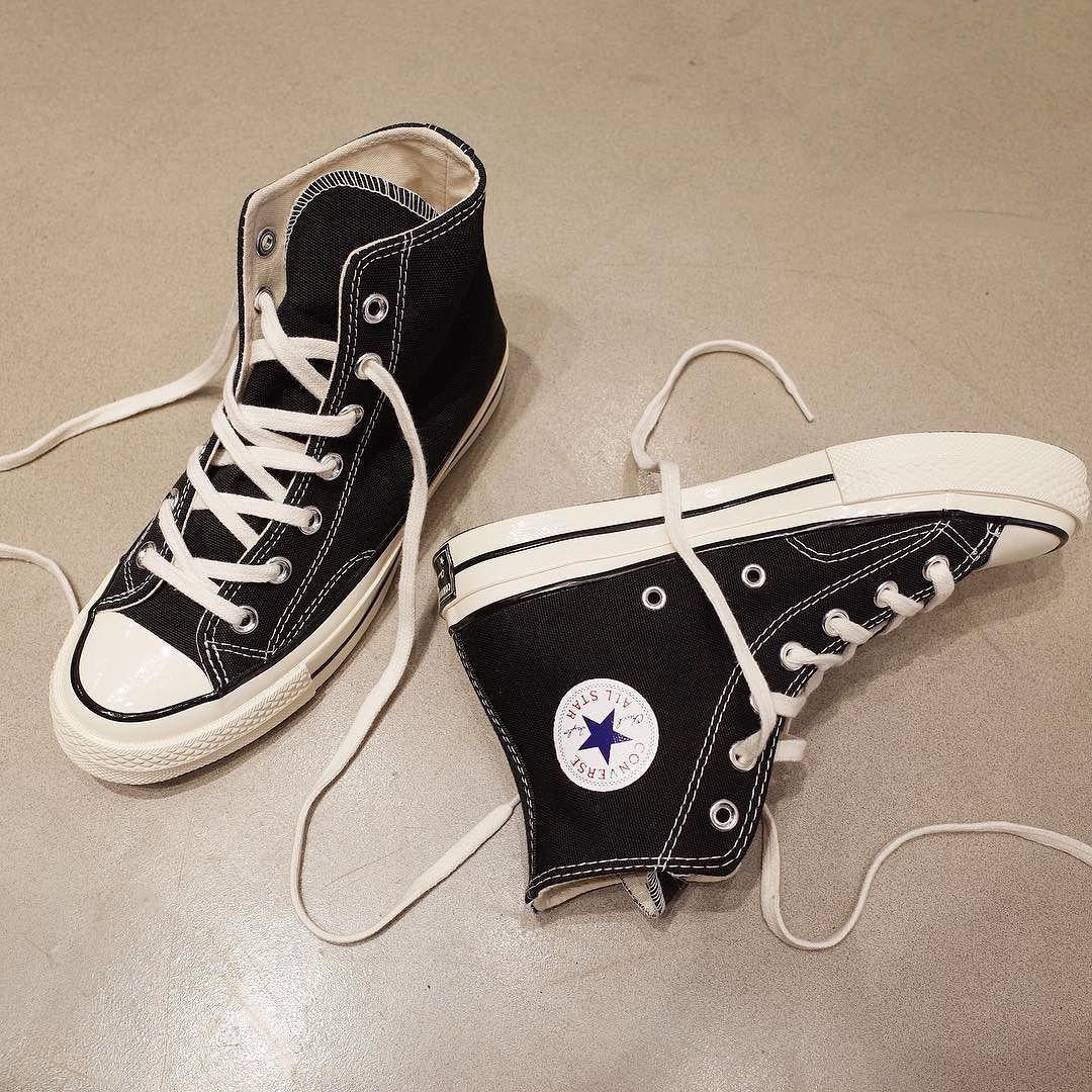 63bf75afadd Converse Chuck Taylor 1970's Black High Top Sneakers - 컨버스의 효자 상품 척테일러  1970's
