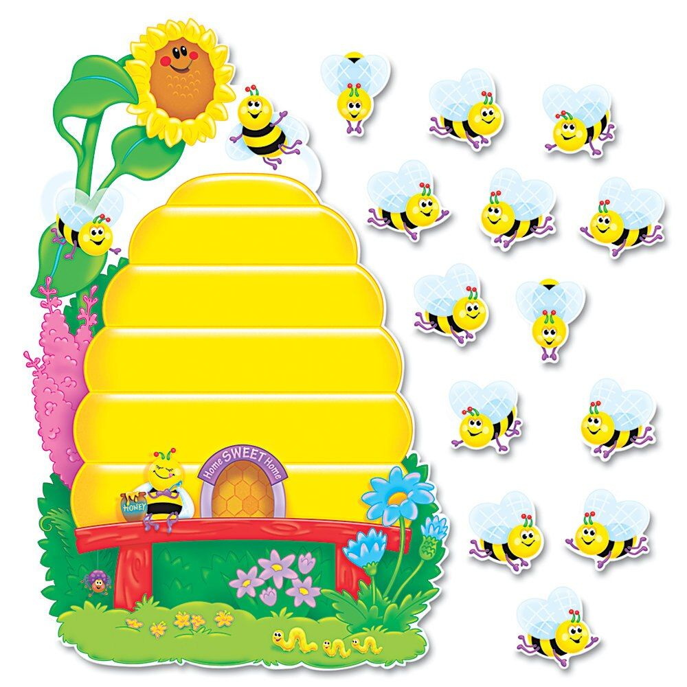 Trend Busy Bees Job Chart Plus Bulletin Board Set Of 37