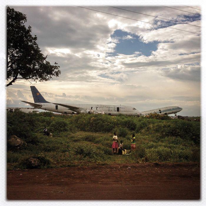 The Congo Airport Playground