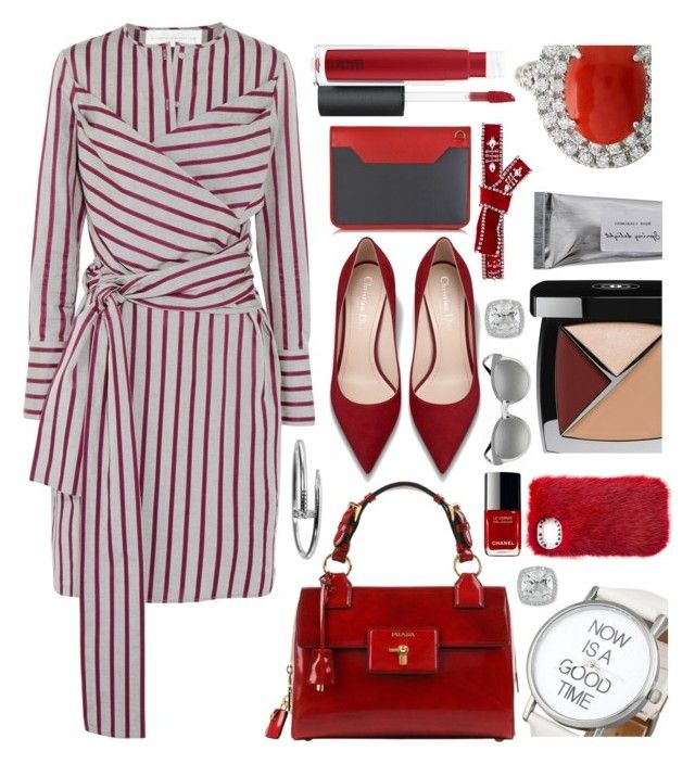 """""""Now is the time"""" by sunnydays4everkh ❤ liked on Polyvore featuring Victoria, Victoria Beckham, John Lewis, Chanel, Aznom, Dsquared2, Bloomingville, Versace, Cartier and Frederic Sage"""