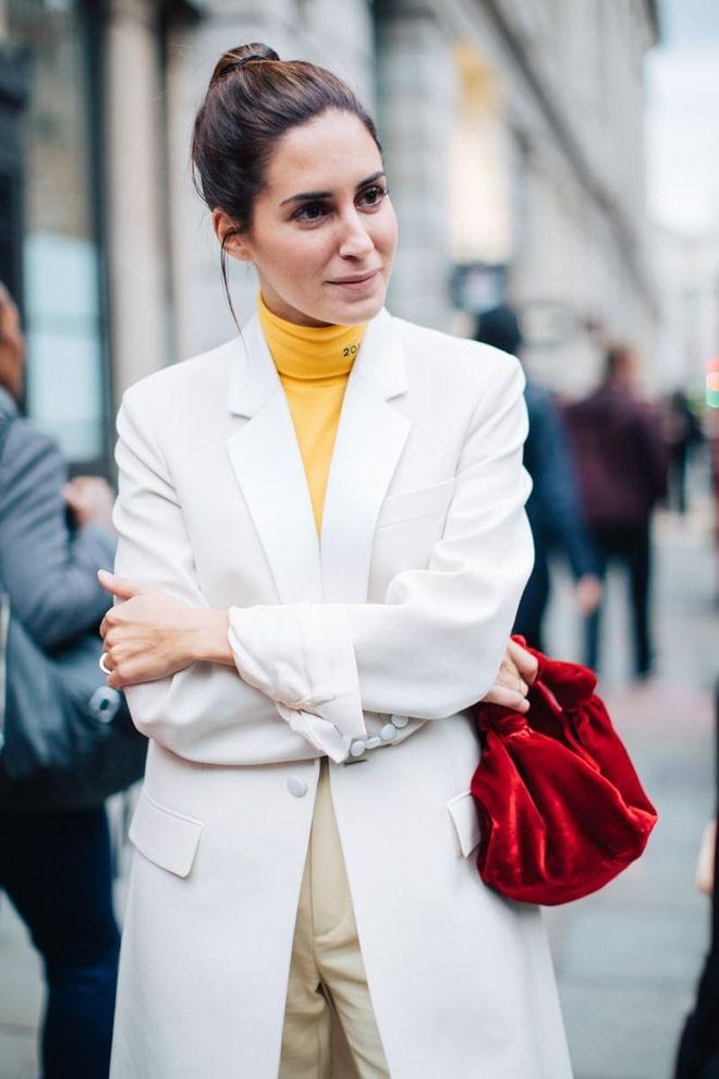 Street style à la Fashion Week printemps-été 2018 de Londres