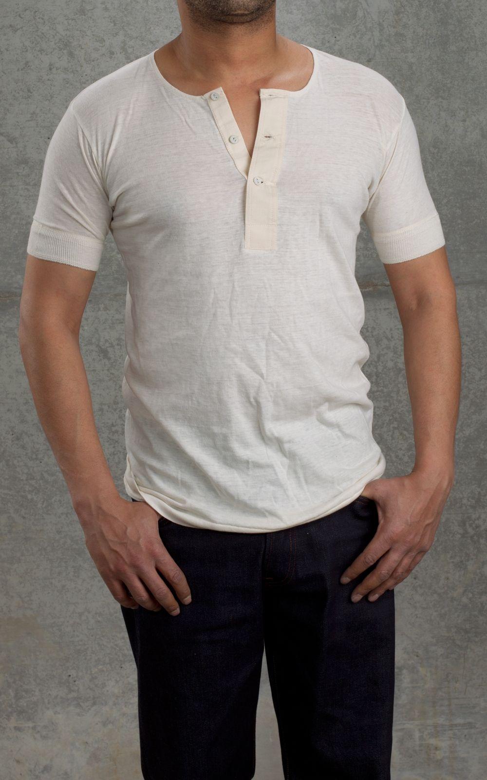 Merz B. Schwanen 103 1920s Worker Shirt 1/4 Nature