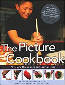 The Picture Cookbook: No-Cook Recipes for the Special Chef (By Ehren McDow)There has never been a cookbook like this, nor has there been a book that could improve the lives of families with special needs members more than this book has the potential to do. After a futile...