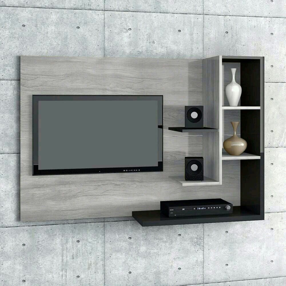 Pingl Par Amoly Loly Sur Home Decor Pinterest Meuble Tv Tv  # Image Meubles En Platre