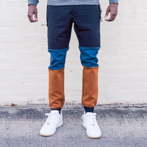 655bda6a4b2e NIKE Tech Fleece Pant 2 (Black Squadron Blue Tawny)  150