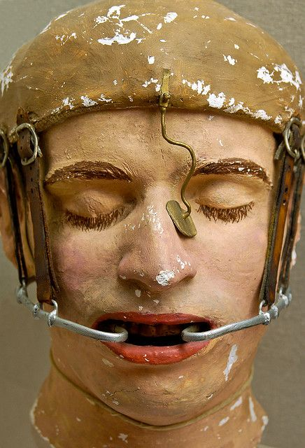 World War I facial reconstruction model