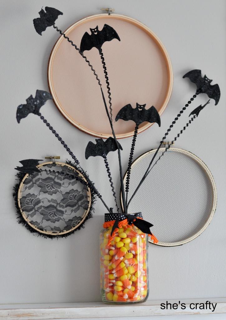 Murci lagos de decoraci n m s info e ideas para for Decoracion para halloween