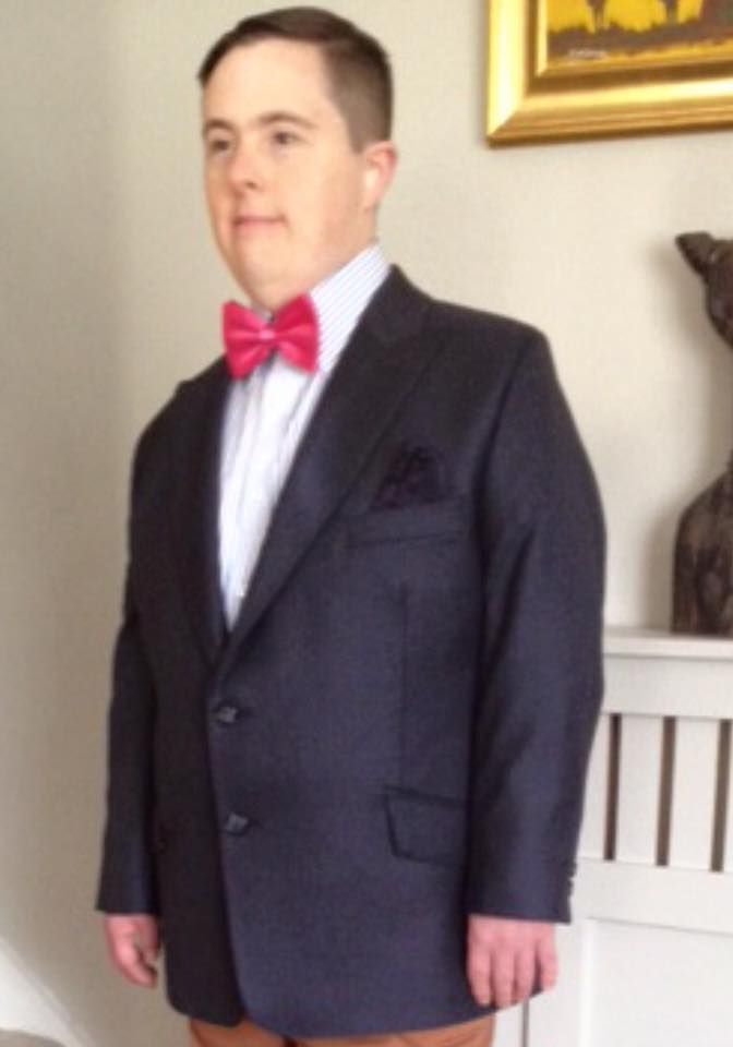 Our Alan is looking very Dandy and Dapper in Dandylion style outfit. We love the look .