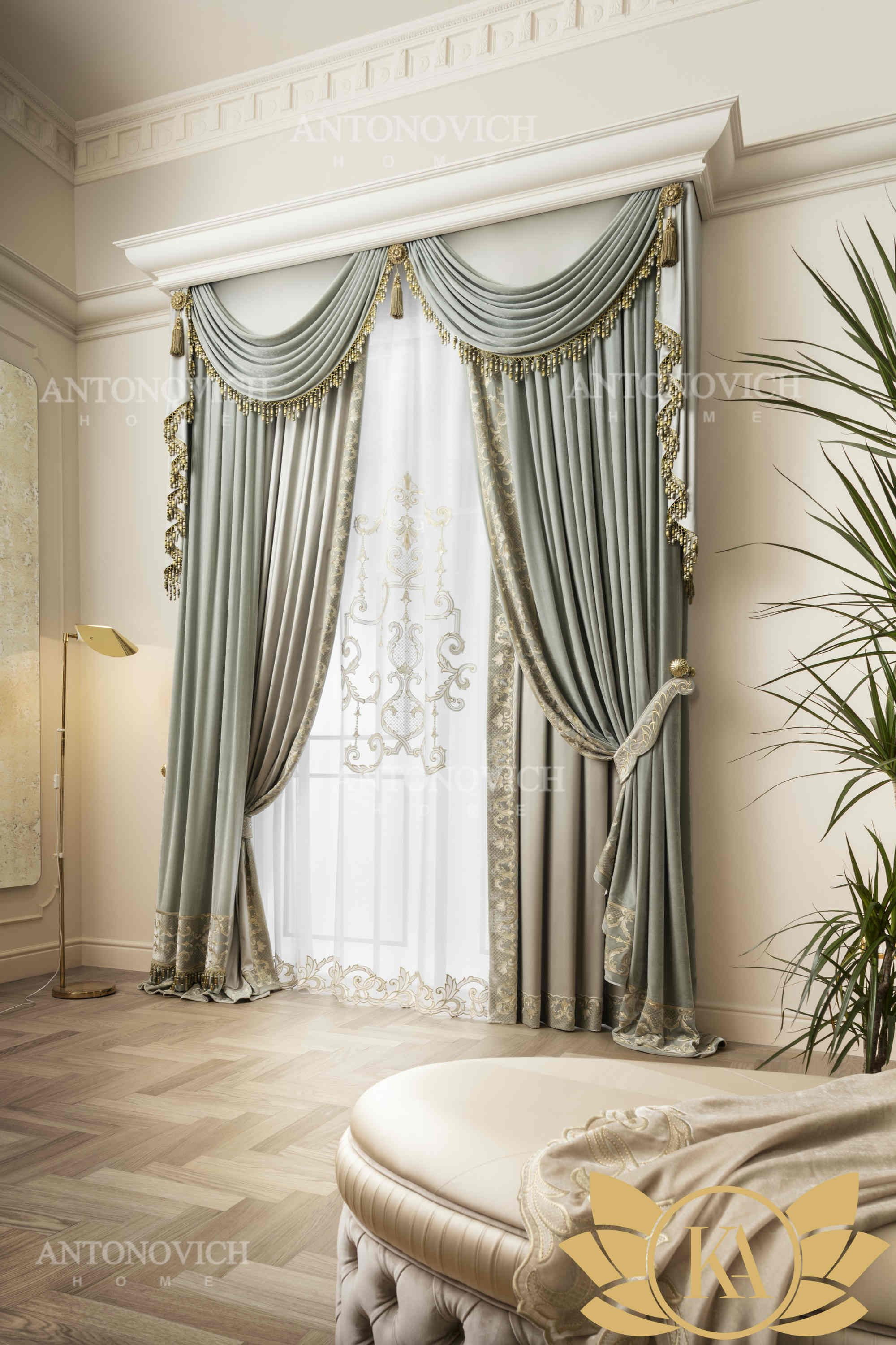 Exclusive Curtains Presented In Our Showroom Are Distinguished By