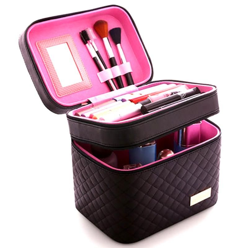 High Quality Designer Cosmetic Case Portable And Durable Portable Cosmetics Large Cosmetic Bag Women Cosmetics