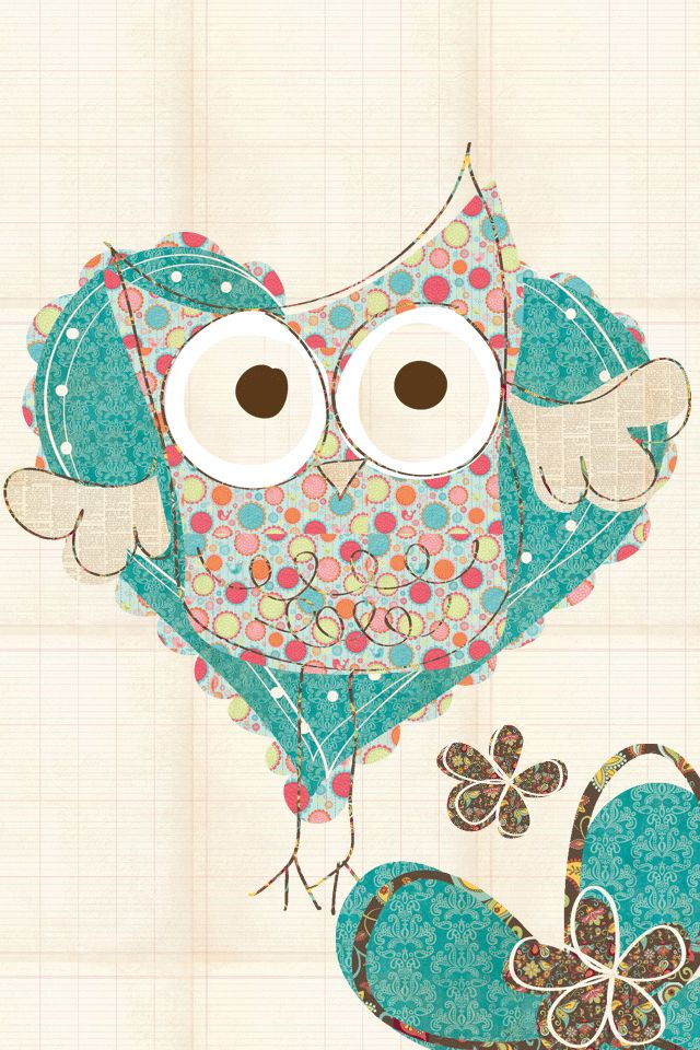 Cute Owl Artist Unknown Owl Wallpaper Cute Owls Wallpaper Iphone Wallpaper