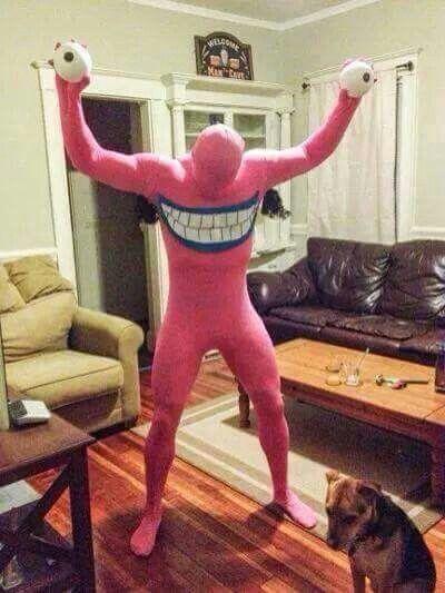 Morph suit character idea.