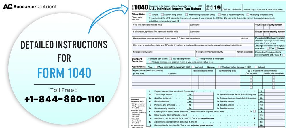 Irs Form 1040 How To File Instructions Tips Due Date