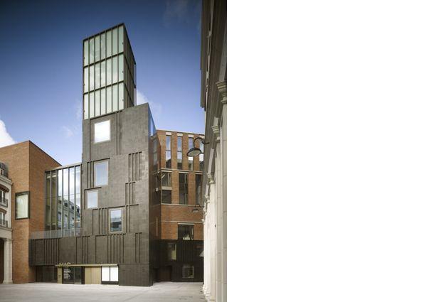 MAC, Belfast, Hall, McKnight Architects