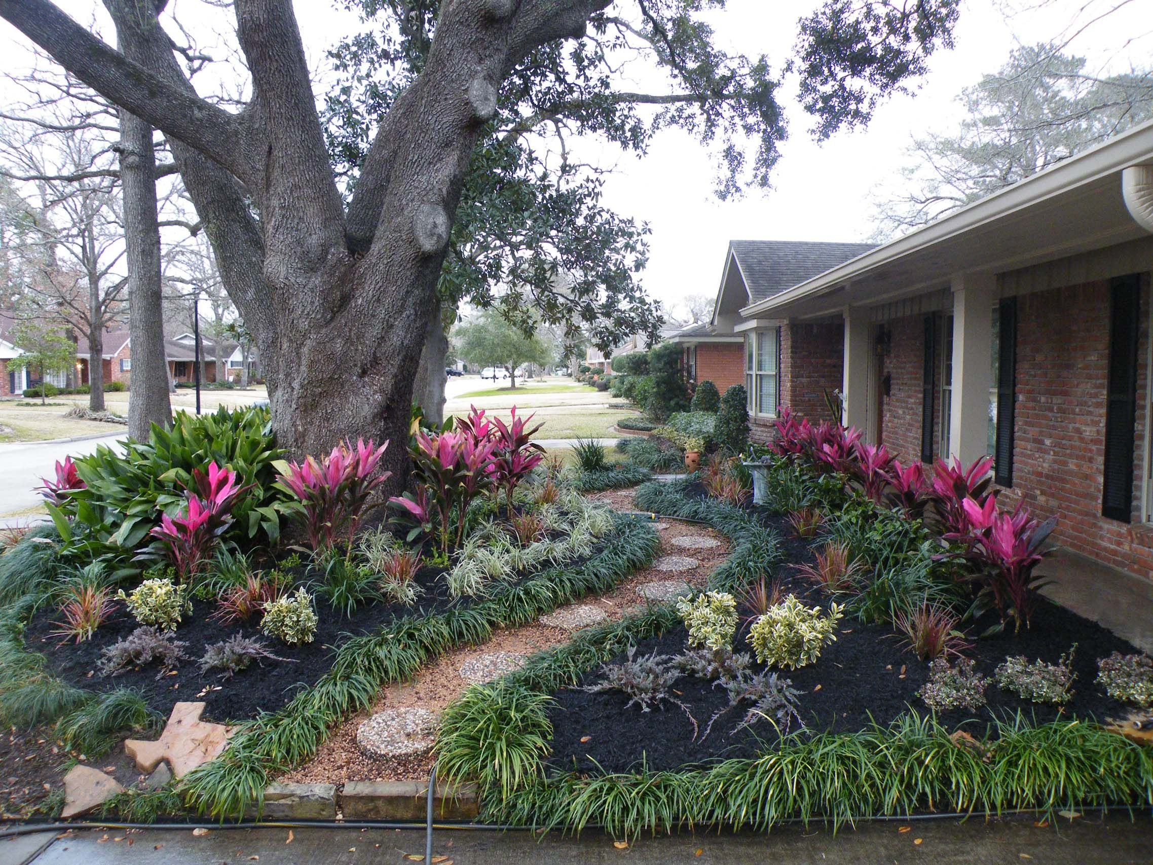 No grass to mow :) … | Front yard landscaping, Front ...