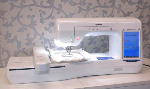 Brother Innov Is Ve2200 Dreammaker Xe Embroidery Machine Laser Needle Pointer Machine Embroidery Embroidery Homemade Furniture