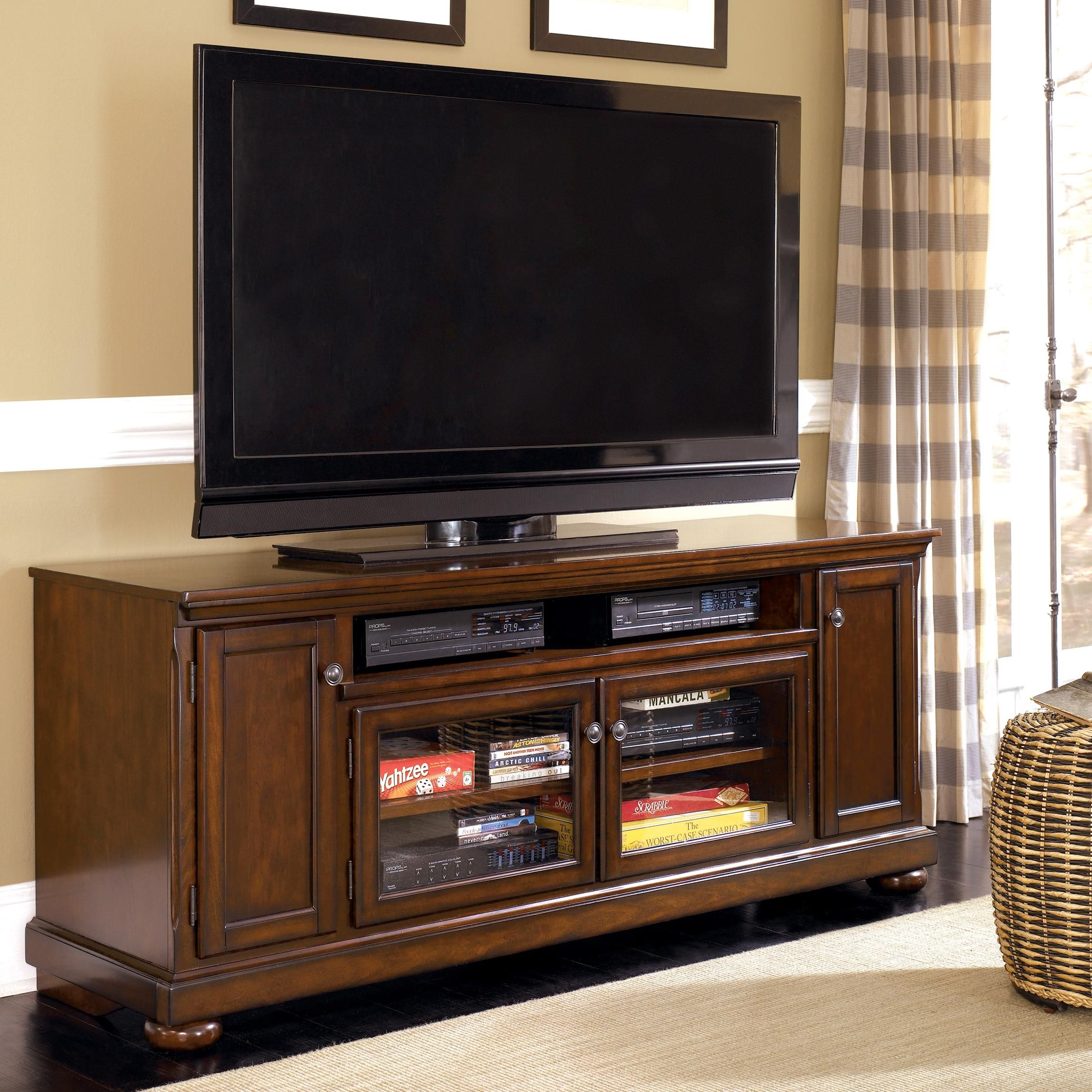 "Porter 72"" Extra Large TV Stand By Ashley Furniture"
