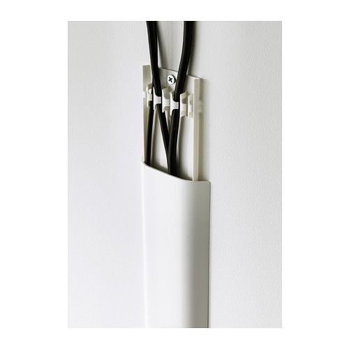 uppleva cord cover strip white ikea ideas pinterest cable cover hide tv cables and ikea. Black Bedroom Furniture Sets. Home Design Ideas