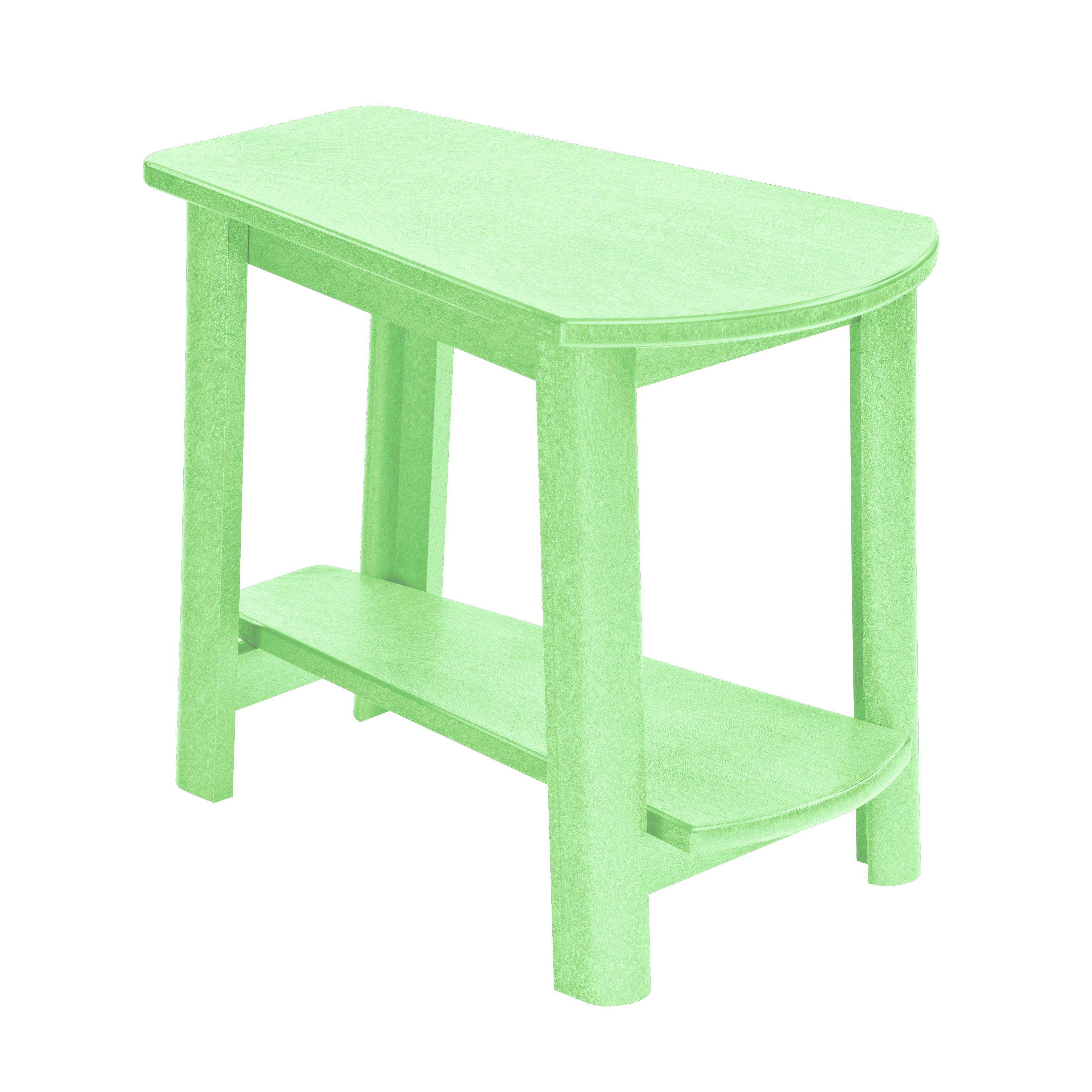 Generations Green Accent Table Lime Patio Furniture Plastic