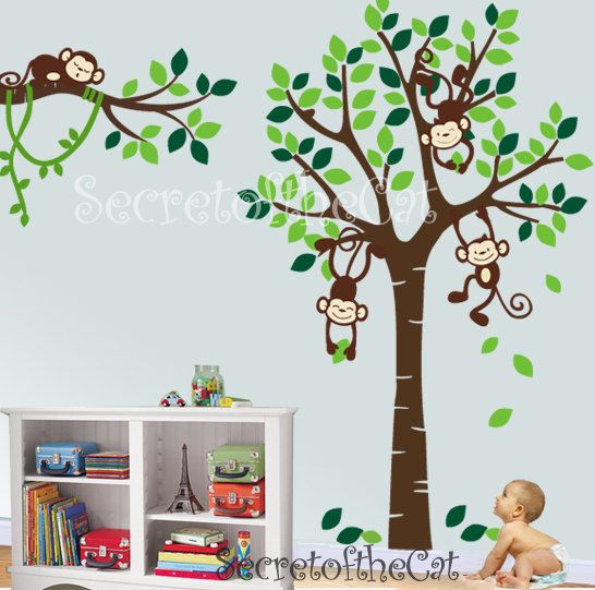 For Nursery Wall Decal On Etsy The Place To Express Your Creativity Through Ing And Of Handmade Vintage Goods