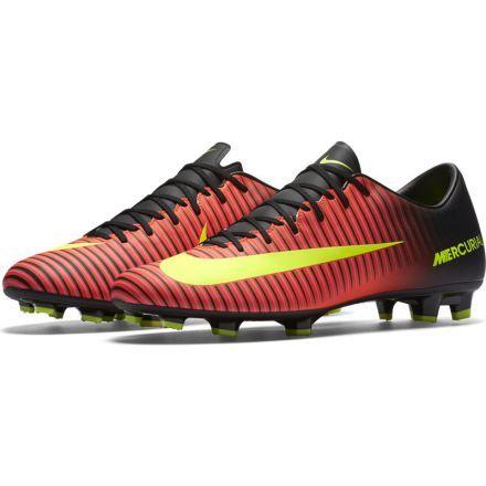 4f912d0dcaf7 Nike Mercurial Victory VI FG (Total Crimson Black Pink Blast Volt ...