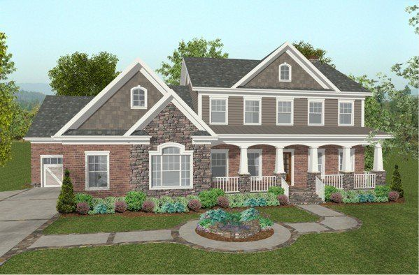I just like how it looks on the outside.. front porch and ... House Plans With Front Side Entry Garages on house plans with rear entry garage, house plans with interior entry garage, house with garage on side, house plans with front screened porch, house plans with front living room, house plans with back entry garage, house plans with front fireplace,