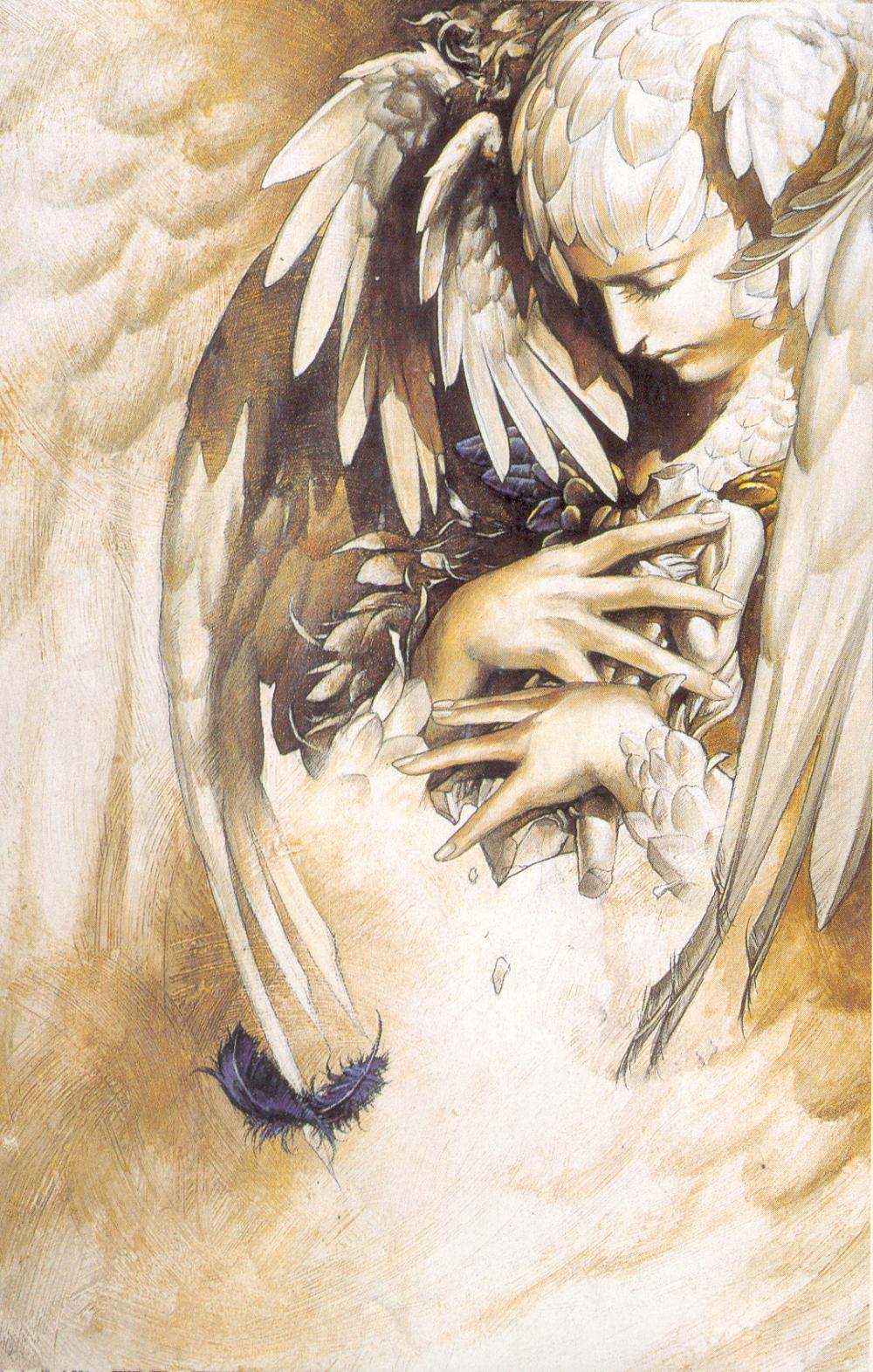 Ayami Kojima Wallpaper And Scan Angel Art Art Amazing Art