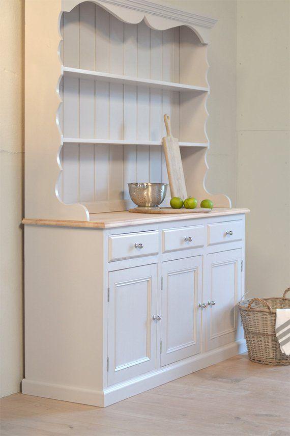 Image 0 Vintage Kitchen Cabinets Painted Kitchen Dresser Shabby Chic Dresser