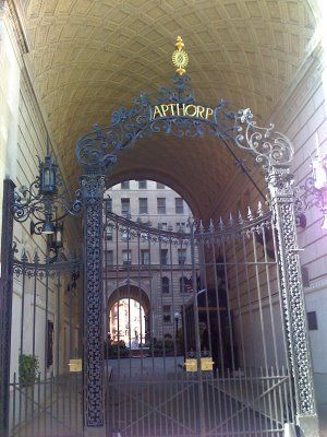 The Apthorp Building NYC
