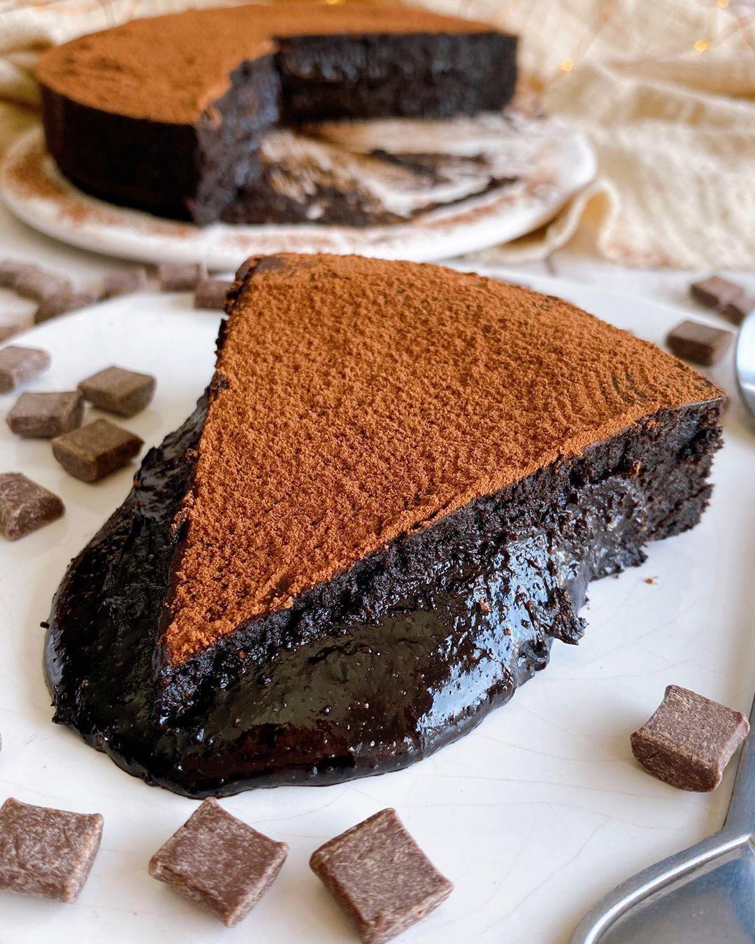 Sara Conde En Instagram Tarta Coulant De Chocolate Receta Si Amas El Chocolate Por Encima De Cua Tartas Chocolate Dulces Saludables