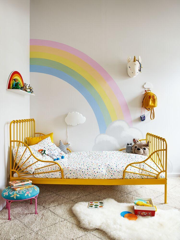 Chambre Enfant Arc En Ciel Chambre Enfant Peinture Chambre Enfant Deco Chambre Enfant