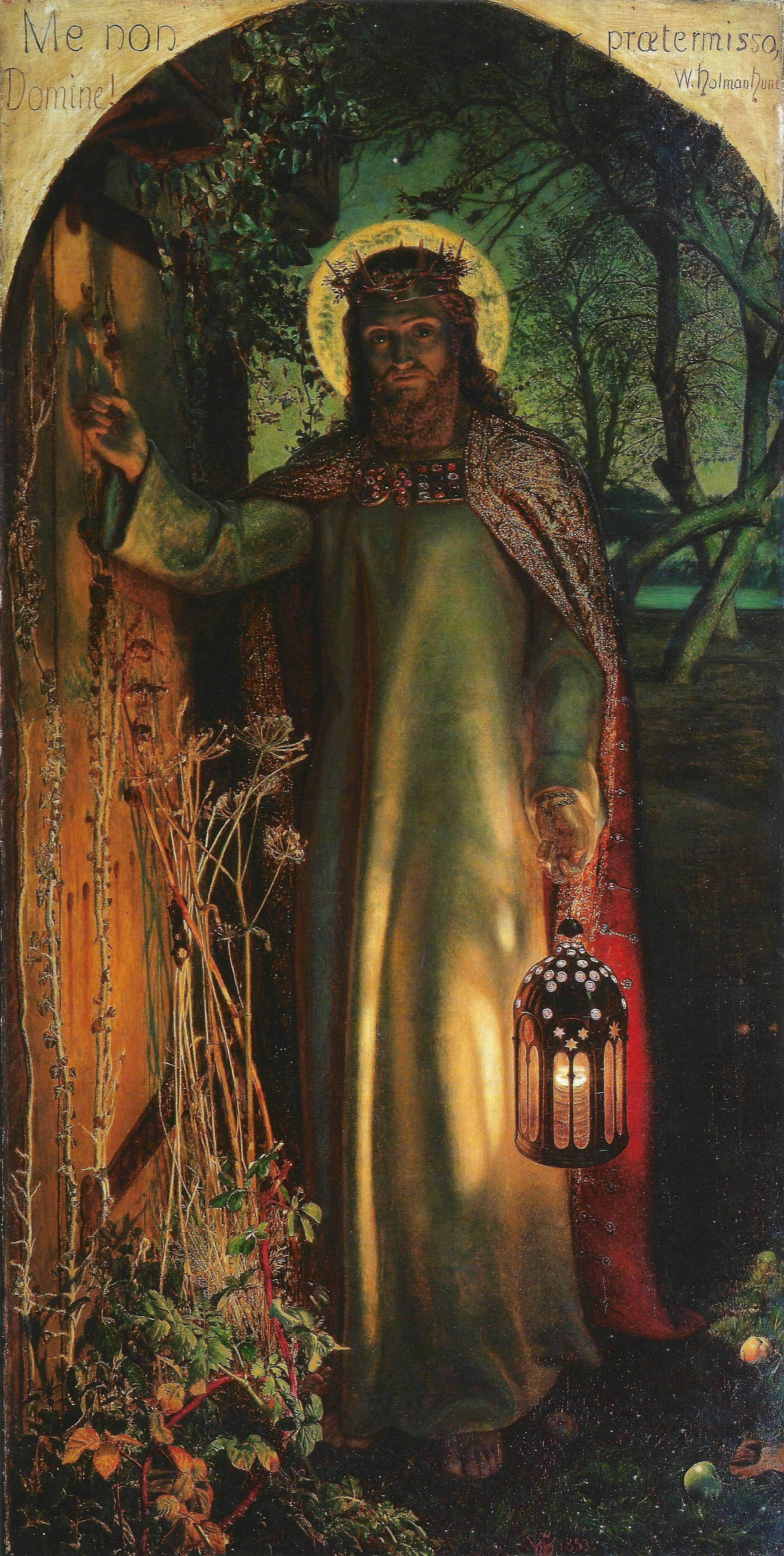 William Holman Hunt The Light Of The World La Lumiere Du Monde