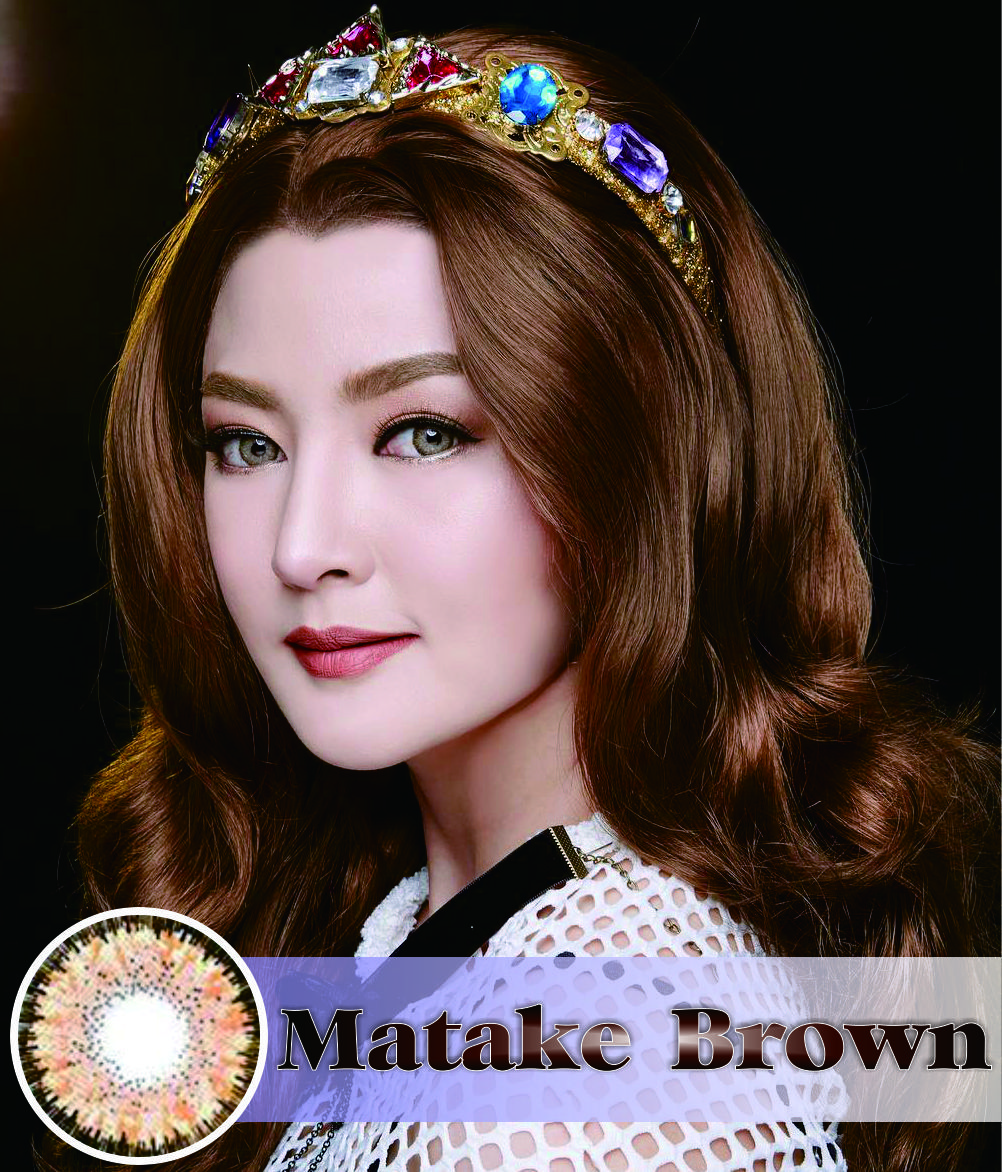 Dreamcolor Matake Brown Kecantikan Pinterest Softlens Diva Queen One Layer With Clear Vision