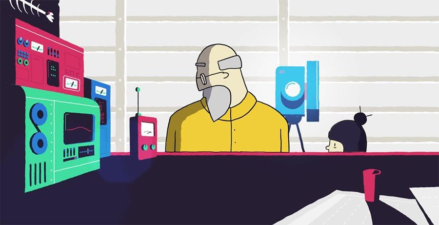 Toller animierter Kurzfilm von Luke Saunders: https://www.langweiledich.net/the-fisherman/