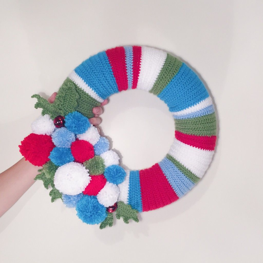 Photo of Christmas crochet wreath – Hello Deborah