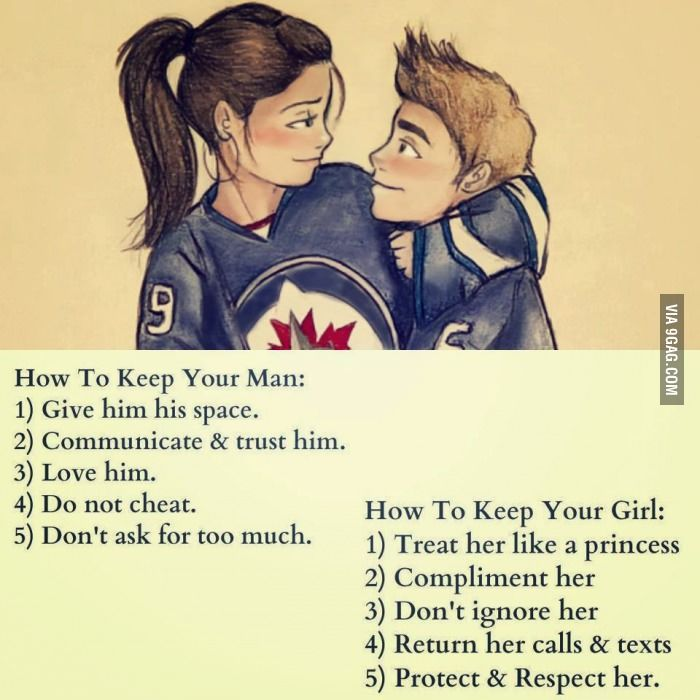 And that's how you maintain a relationship.