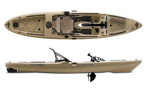 Native watercraft slayer propel 13 fishing kayak review for Fishing kayak brands