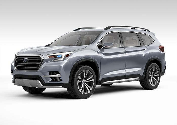 Subaru seven seat ascent adjusted to climb every bend each ford parking the concept last year has continued through and confirmed its plans also best my cars images in rolling carts pickup trucks rh pinterest