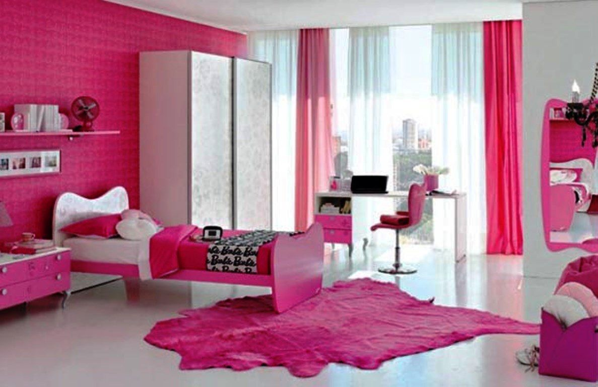 Purple and pink bedrooms - Purple Purple And Pink Bedroom