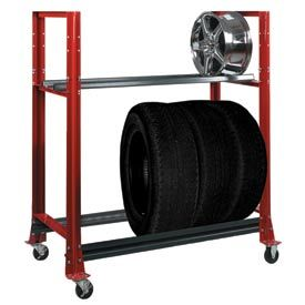 Rolling Tire Storage Rack Simple Shure® Tire Carts & Racks  Gift Ideas  Pinterest