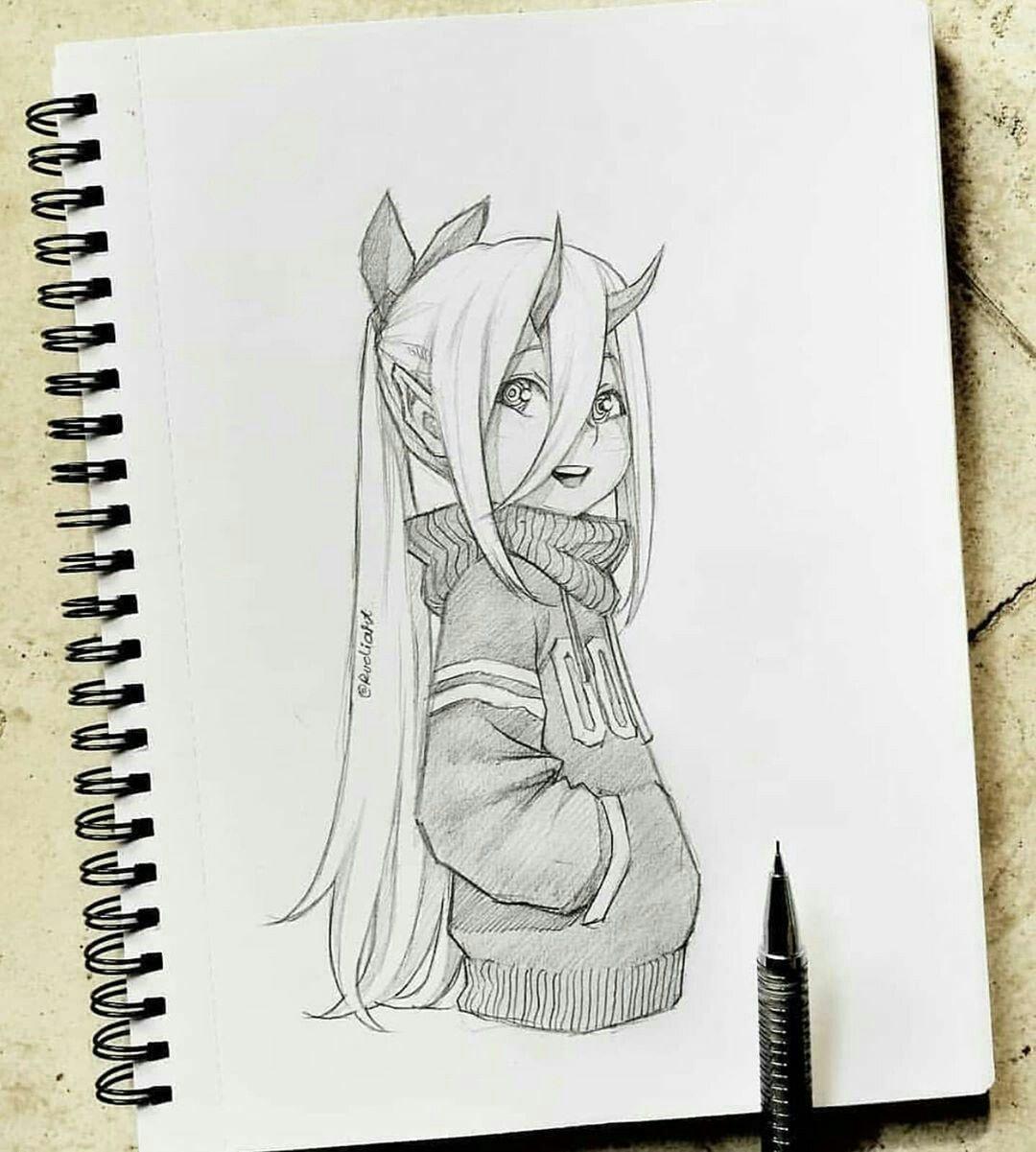 Pin De Sydney Em Desenhos Menina Anime Anime Desenhos Aleatorios
