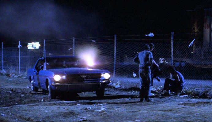 The Outsiders 1965 Mustang... 'Mustangs... they're tuff ...