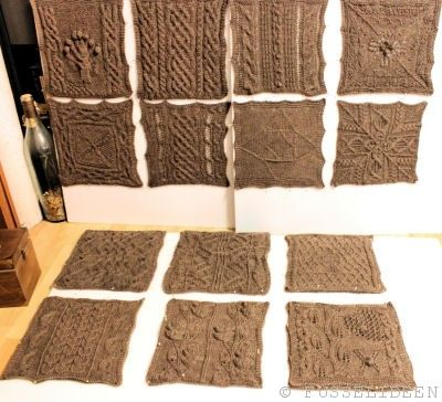 Great American Aran Afghan Archive • Fusselideen | Stricken Decken ...