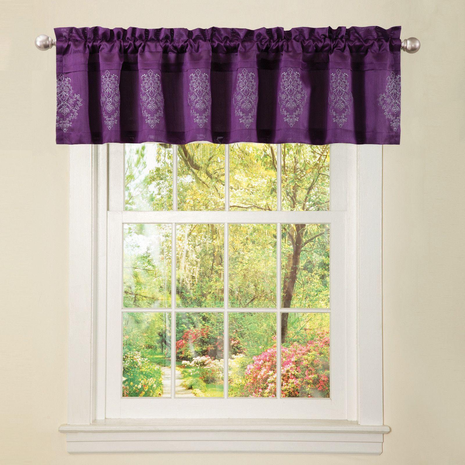 delila plum valance decorating pinterest valance cottage rh pinterest com cottage style window valances
