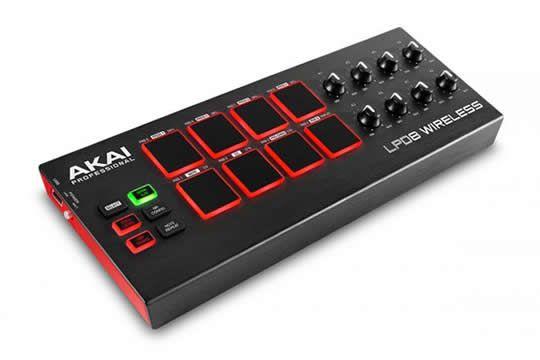 Akai LPD8 WIRELESS USB MIDI Pad Controller