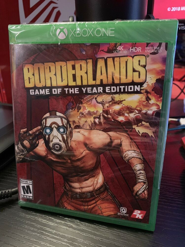 Borderlands: Game of the Year Edition (2019) XBOX ONE 4K HDR