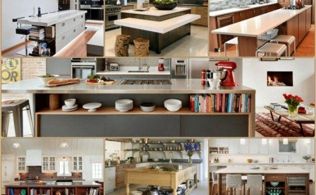 Ist die Kücheninsel ein Muss? - 30 Küchen mit Kochinsel als - www küchen quelle de