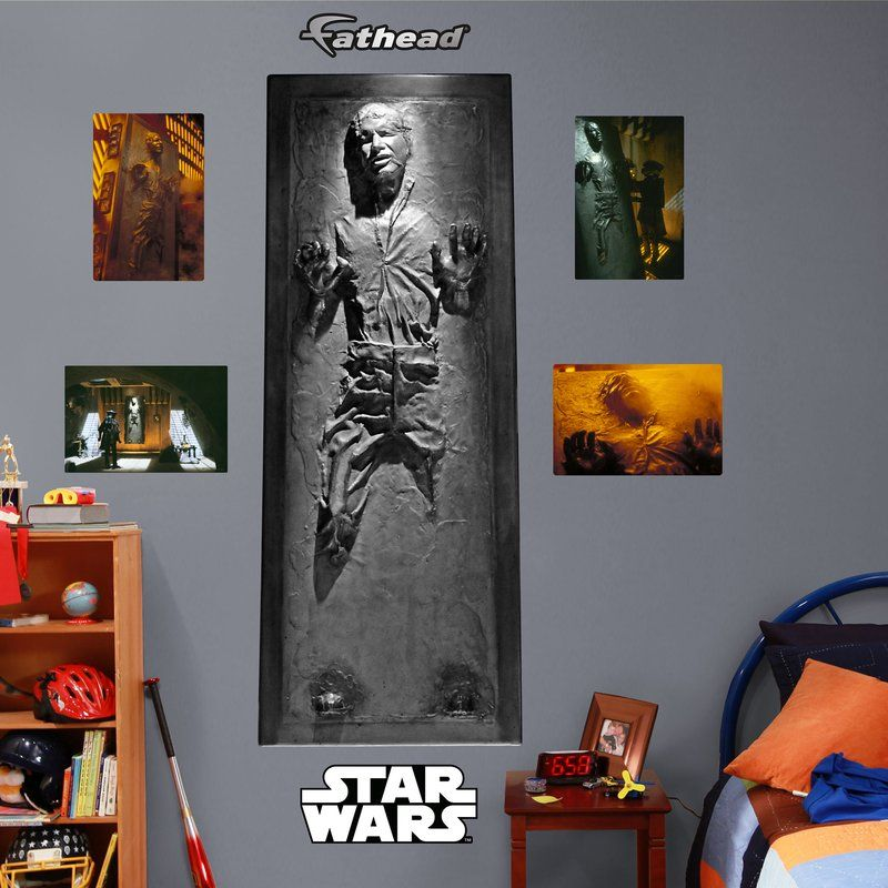 Lucas Star Wars Han Solo In Carbonite Wall Decal