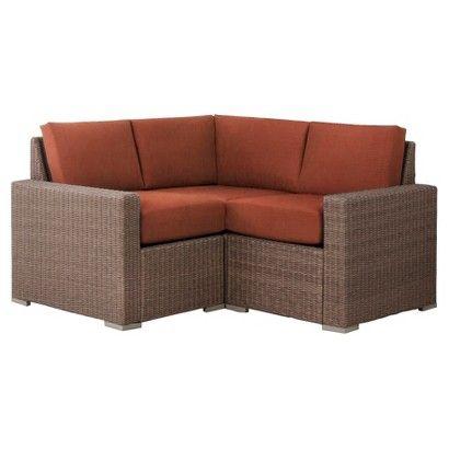 Wicker Patio Sectional Furniture, Heatherstone Patio Furniture